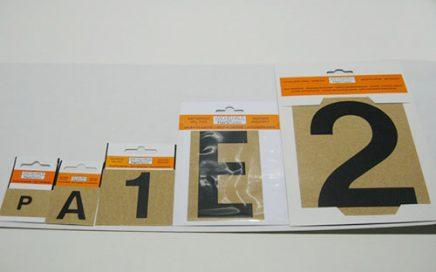 HartPlastik muovikirjaimet ja -numerot • Maahantuonti Rosa Oy
